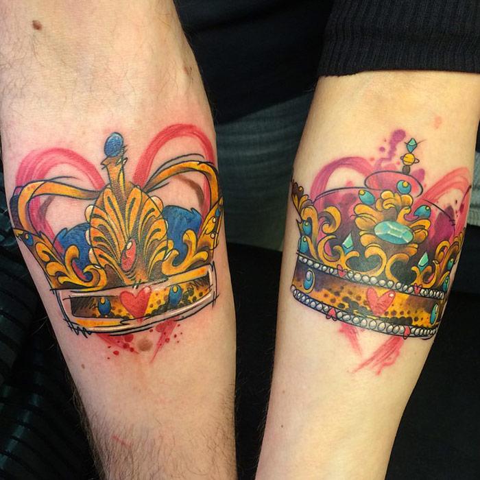 King & Queen Crowns