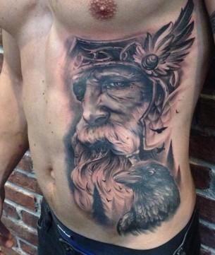 Odin with Ravens