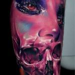 Pink Face & Skull