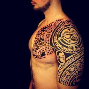 Polynesian Tribal Piece