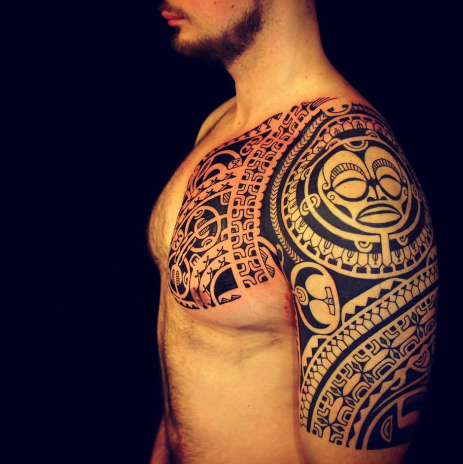 Polynesian Tribal Piece