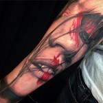 Realism Portrait Tattoo