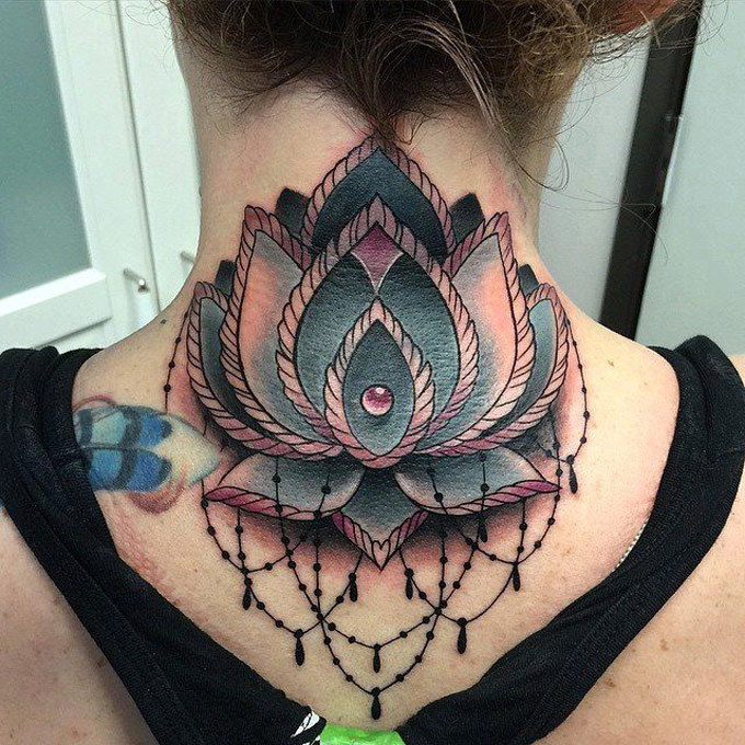 Lotus Flower Neck Piece