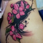 Apple Blossom Tattoo