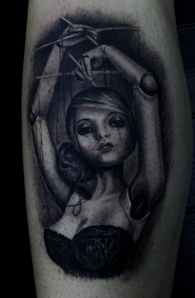 Puppet Tattoo