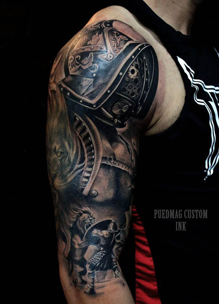 Roman Gladiator | Best tattoo design ideas