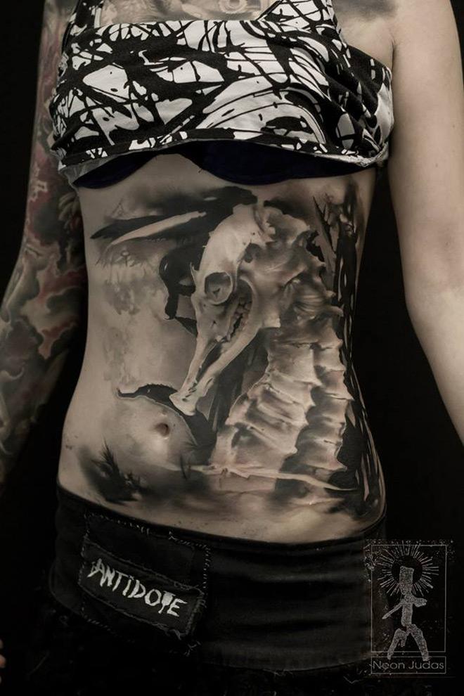 Skeleton Seahorse