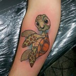 Squirt Tattoo