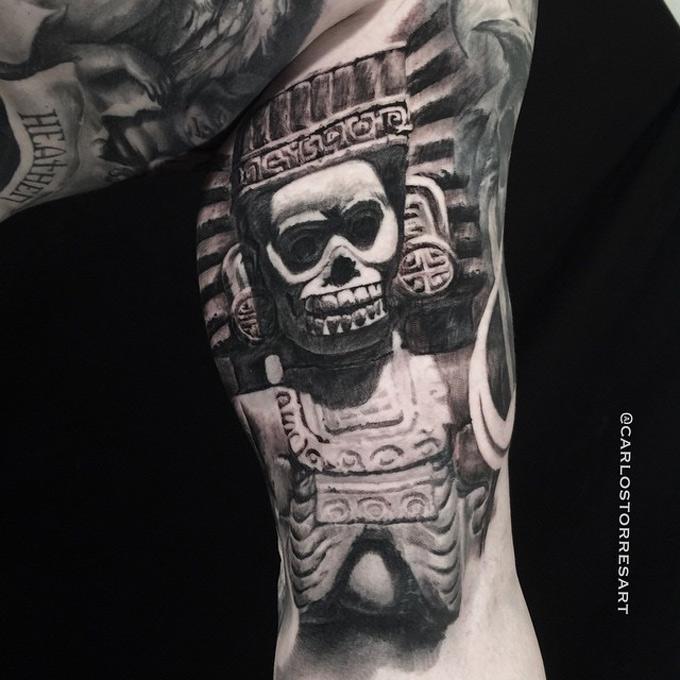 Aztec Death God