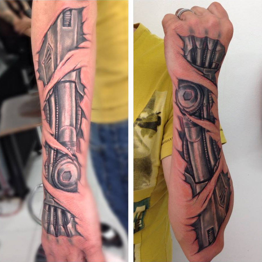Biomechanical Forearm