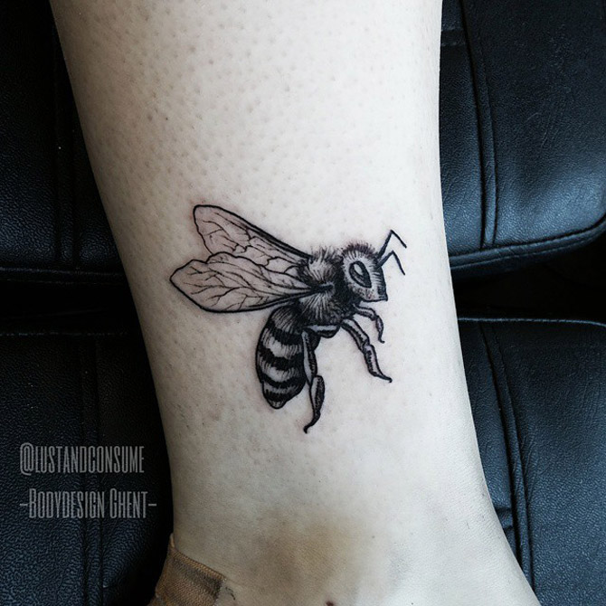 Busy Bee Tattoo