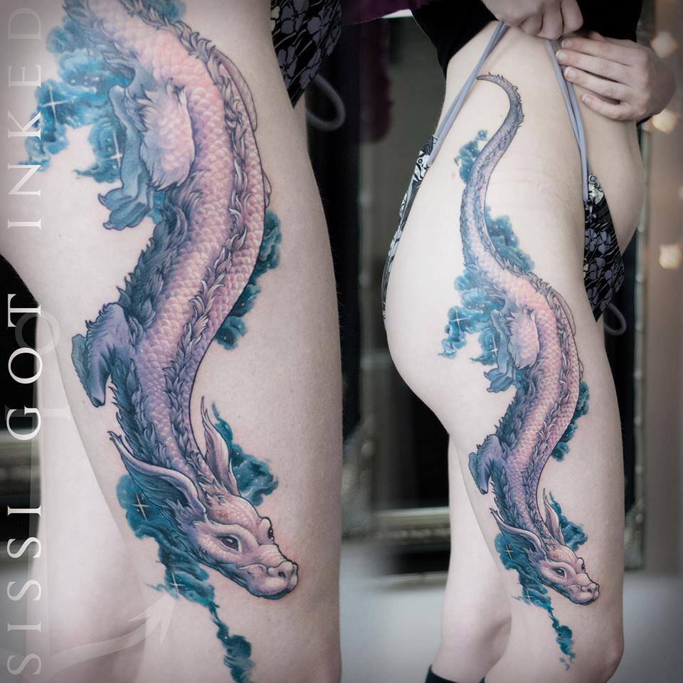 Falkor Tattoo