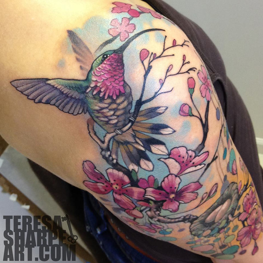 Hummingbird Tattoo Best Tattoo Design Ideas