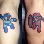 Megaman & Protoman Tattoo