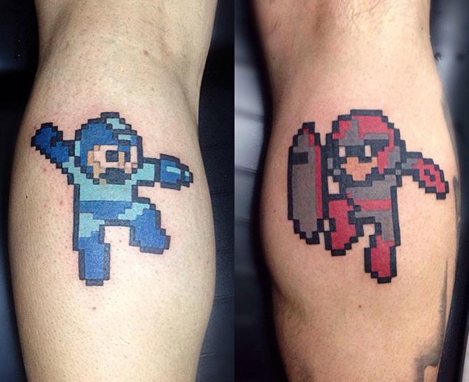 Megaman & Protoman