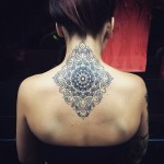 Neck & Back Mandala