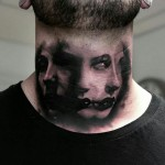 Scary Neck Portrait