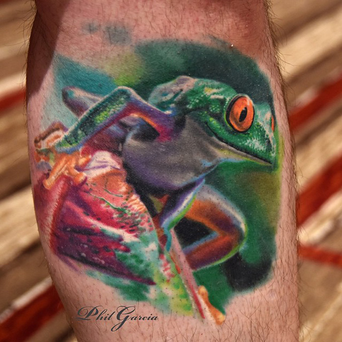 realistic tree frog best tattoo design ideas. Black Bedroom Furniture Sets. Home Design Ideas
