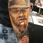 Tom Hardy Tattoo