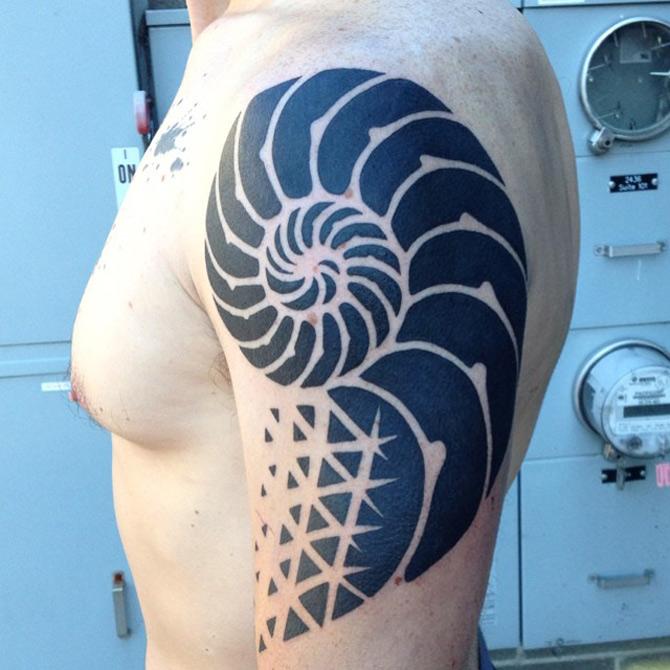 Ammonite Tattoo