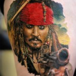 Captain Jack Sparrow Tattoo