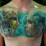 Cyborg Chest Piece