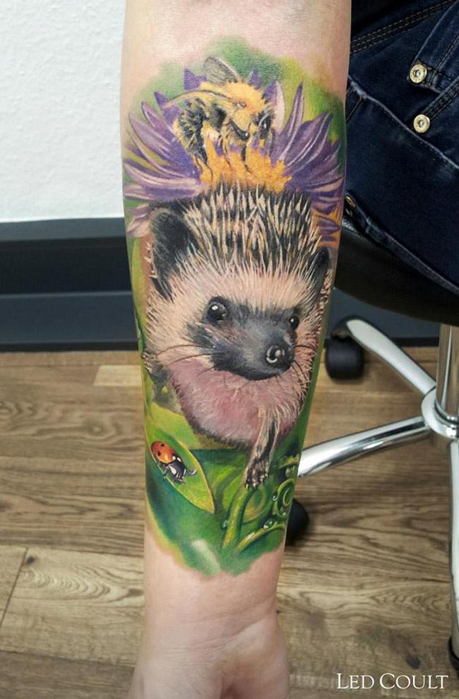 Hedgehog Tatt