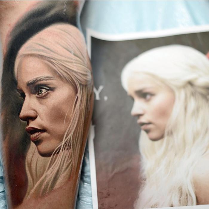Khaleesi Tattoo