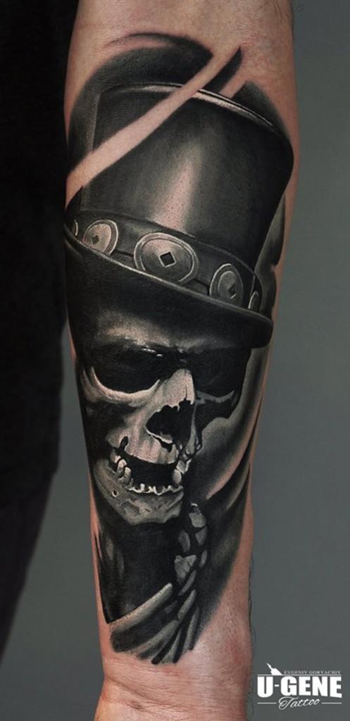 Skull & Hat