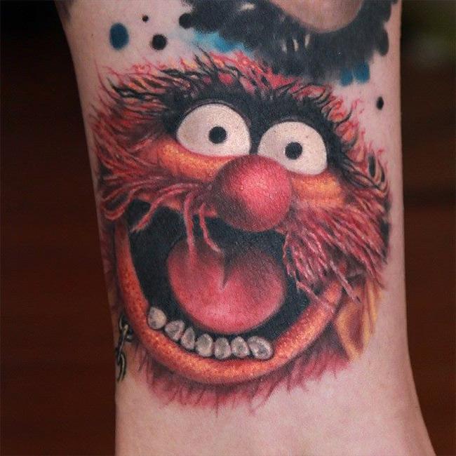 animal muppet tattoo best tattoo design ideas. Black Bedroom Furniture Sets. Home Design Ideas