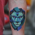 Lion Forearm Tattoo