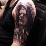 Palpatine Tattoo