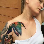 Pride Bird Tattoo