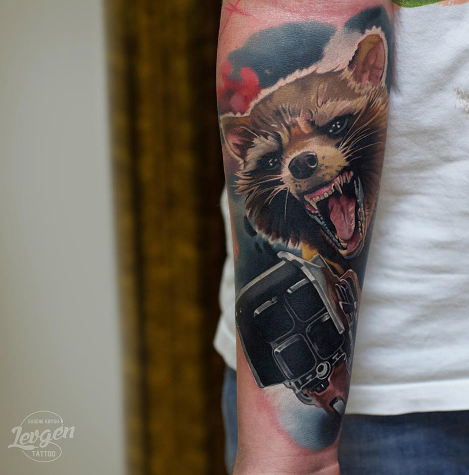 Rocket Raccoon Tattoo