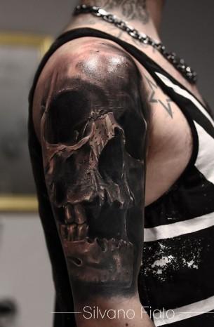 Awesome Skull Sleeve