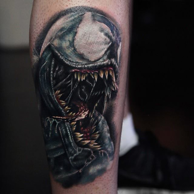 Venom Tattoo