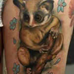 Bush Baby Tattoo