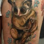 Bush Baby Tattoo