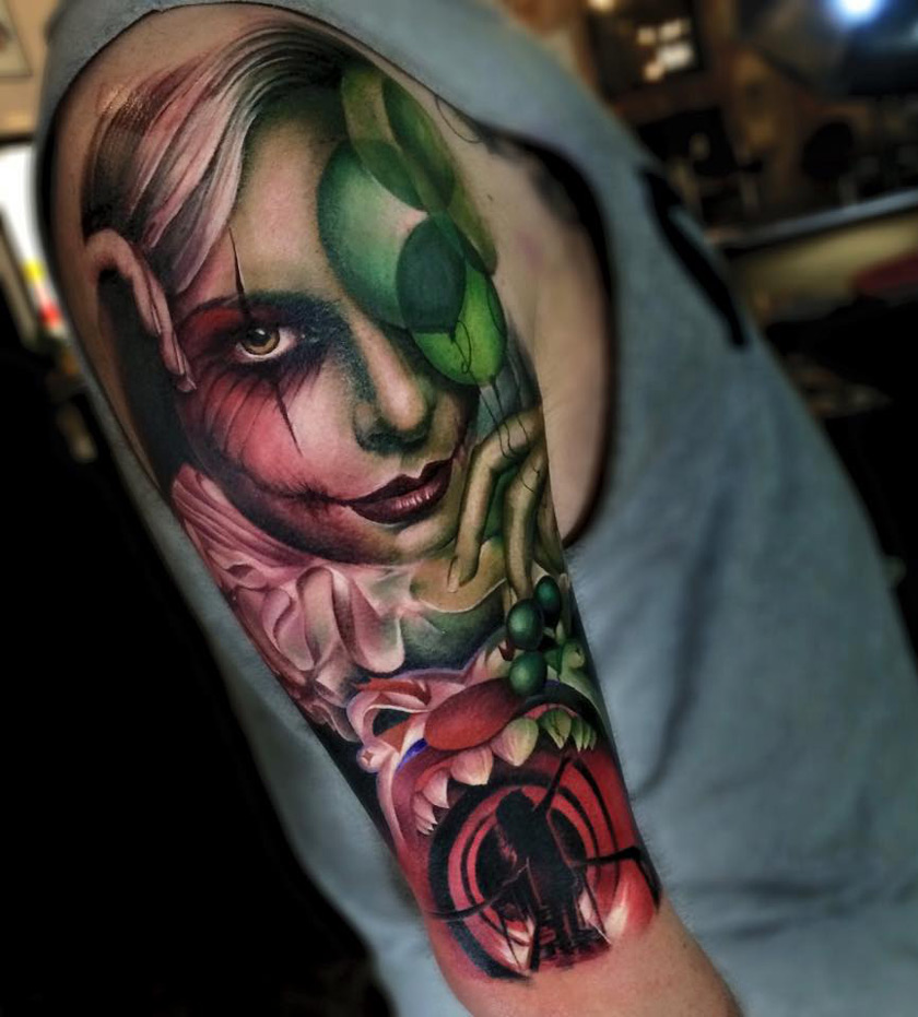 Best 25 Clown Tattoo Ideas On Pinterest: Best Tattoo Design Ideas