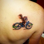 Curious George Tattoo