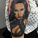 Dita Von Teese Tattoo