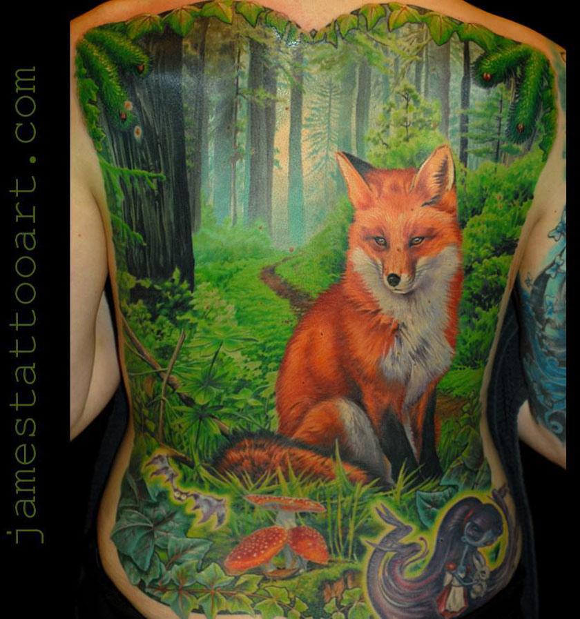 Fox & Woodlands