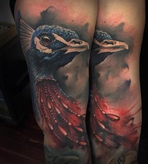 Peacock Tattoo
