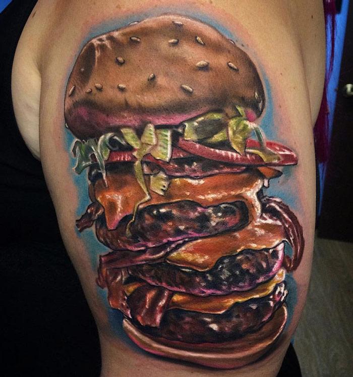 Triple Bacon Cheeseburger