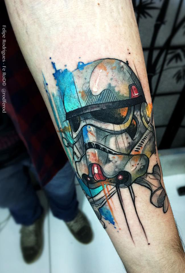 Watercolor Stormtrooper