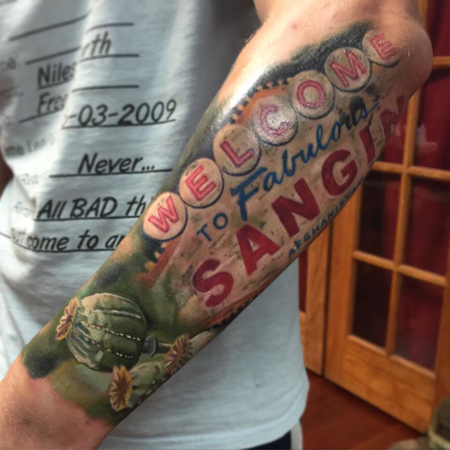Fabulous Sangin Tattoo