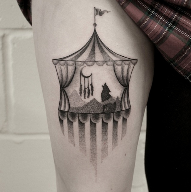 Childhood Nightmare Tattoo