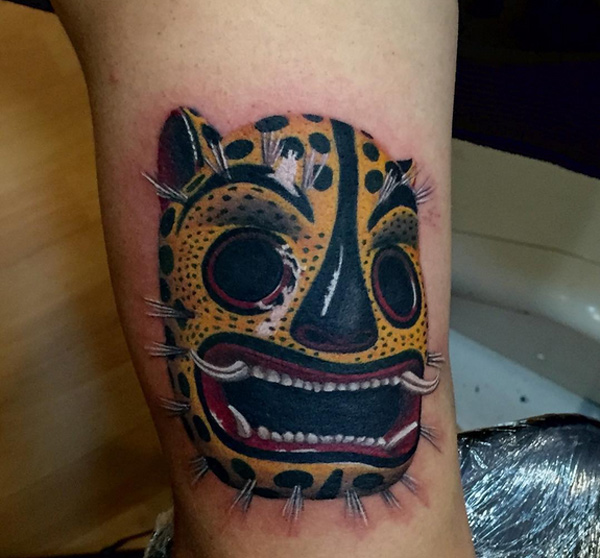Jaguar Mask