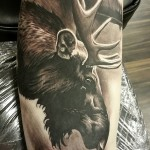 Moose Tattoo