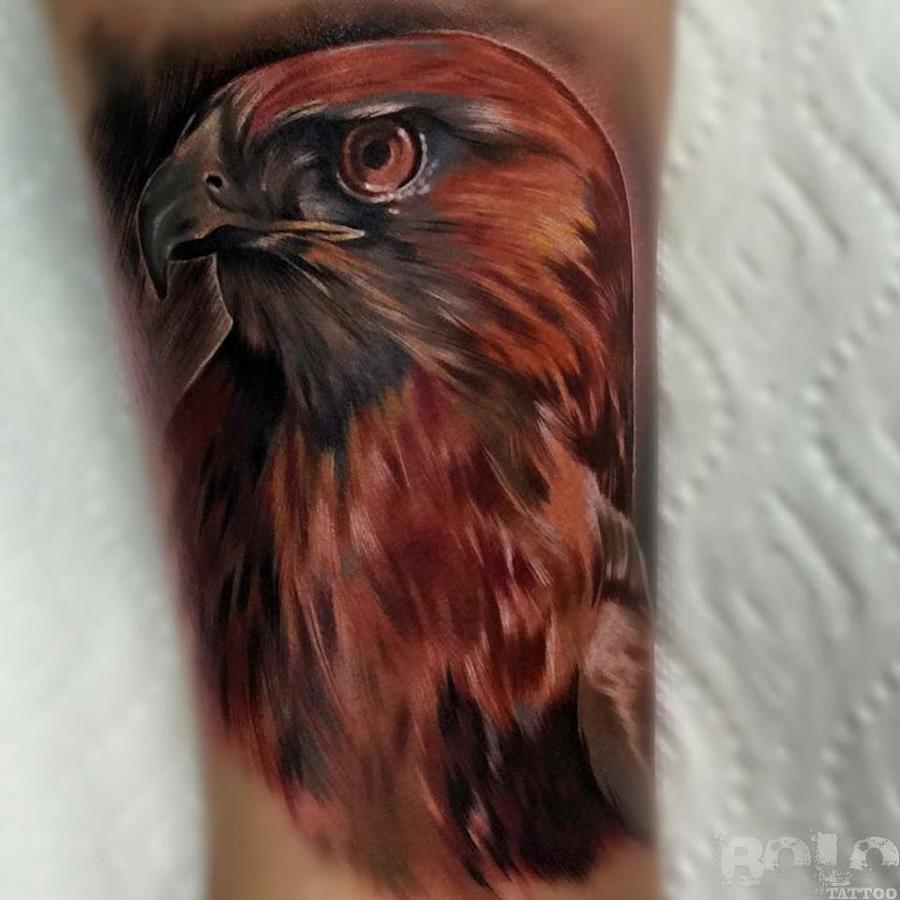 Hawk Tattoo